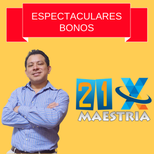 Lee más sobre el artículo Maestria 21X Bonos espectaculares