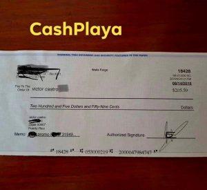 Bonos Cash Playa